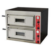 EP-2E Black Panther Pizza Deck Oven - 8 x 30cm Pizzas