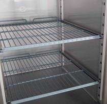 XURF1200S2V FED-X S/S Four Door Upright Freezer 1200 Litre 1340mm Width