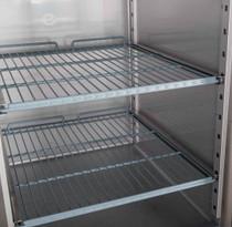 XURF600G1V FED-X S/S Full Glass Door Upright Freezer 600Ltr