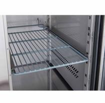 XUB6F18S3V FED-X S/S Three Door Bench Freezer 339Ltr