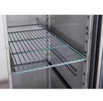 XSS7C13S2V FED-X S/S Two Door Sandwich Counter 282Ltr 1360mm Width
