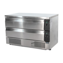 DA997-A Polar U-Series 2 Drawer Counter Fridge Freezer 6xGN