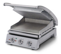 GSA815S Roband 8 Slice Smooth Plate Grill Station