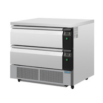 DA996-A Polar U-Series 2 Drawer Counter Fridge Freezer 4xGN