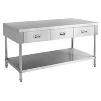 SWBD-7-1500 Work bench with 3 Drawers and Undershelf 1500mm Width