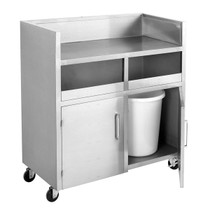 MBS118 Double Bin Mobile Station 1180mm W x 550 D x 1260 H