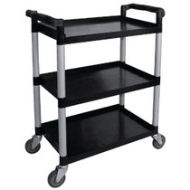 CF101 Vogue Polypropylene Mobile Trolley Small Capacity: 130 kg