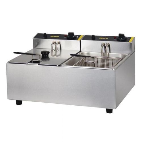 DL891-A Apuro 5 Litre Double Deep Fryer