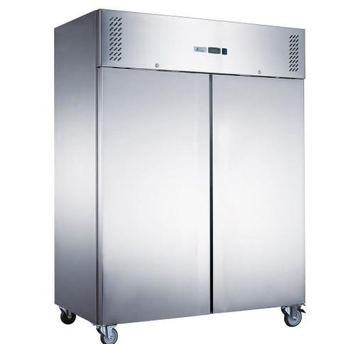 XURF1200SFV FED-X S/S Double Door Upright Freezer 1200 Litres