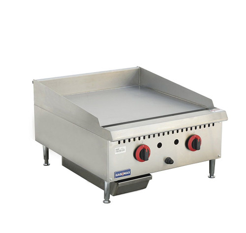 GG-24 Two Burner Natural Gas Griddle Top 610mm W x 761 D x 412 H