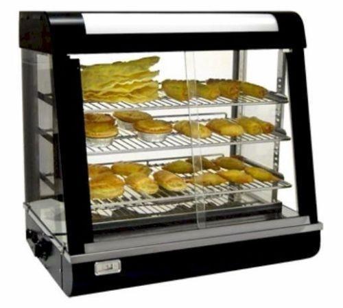 Deaken Commercial Curved Top Electric Bench Top Hot Pie / Food Warmer