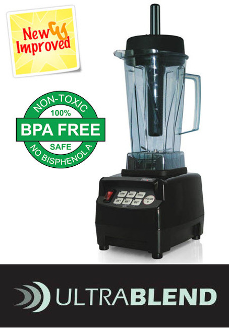 TM-900 High Performance Ultrablend Commercial Drink Blender Mixer 3HP 2 Ltr