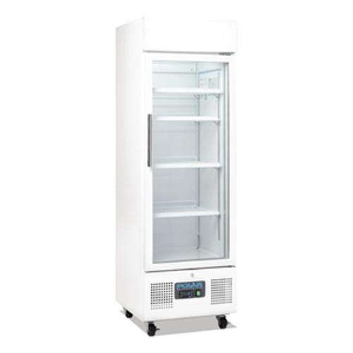 DM075-A Polar G-Series Upright Display Fridge 218Ltr White