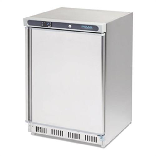 CD080-A Polar C-Series Under Bench Fridge 150Ltr Stainless Steel