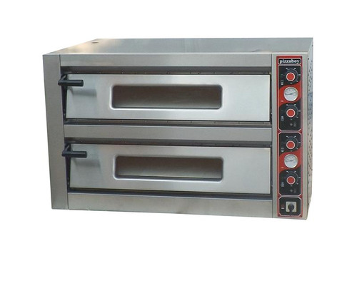 DKN-9262-2 Large Deaken Commercial Pizza Oven Double Deck 1200mm Width