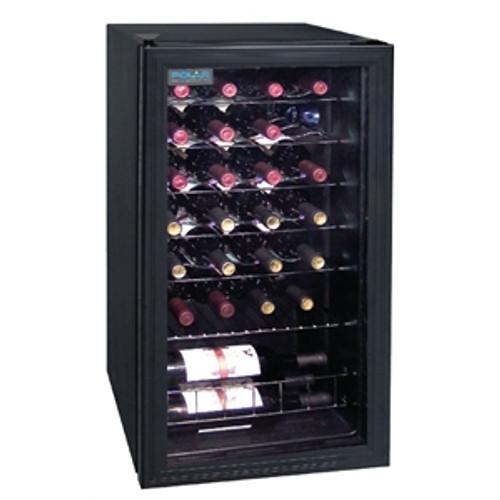 CE203-A Polar C-Series Under Counter Wine Cooler Fridge 28 Bottles