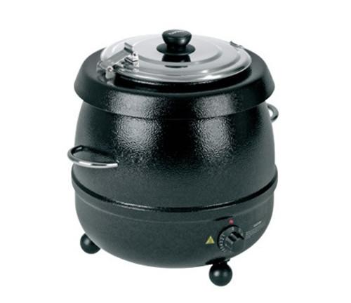 Birko Soup Kettle Black 9L