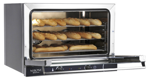 Nerone Commercial Convection Oven  (600 x 400mm) 3 Tray Capacity Tecnodom