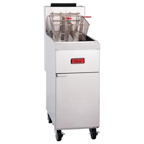 GH110-N Thor Freestanding Single Pan Double Basket Gas Deep Fryer
