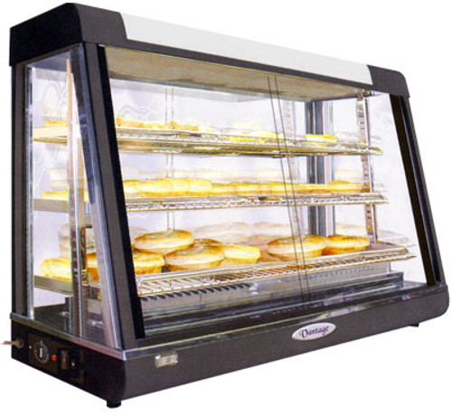 Pie Warmer & Hot Food Display 900mm W x 490 D x 610 H - PW-RT/900/1