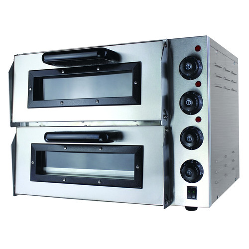 EP2S Compact Double Pizza Deck Oven 585mm W x 550 D x 430 H
