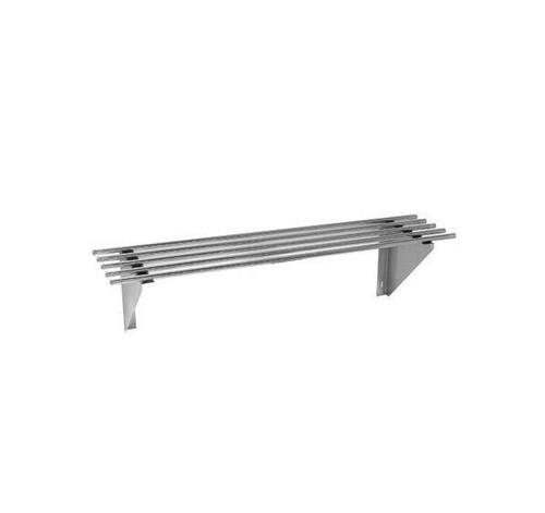 0600-WSP1 Stainless Steel Pipe Wallshelf 600mm Width