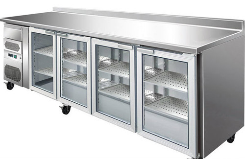 CM25G TROPICALISED Four Door Bar Fridge