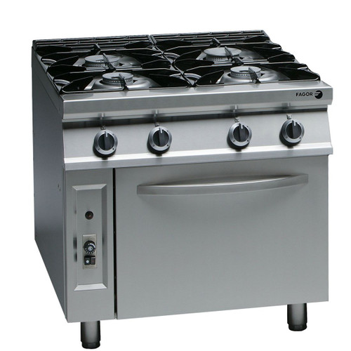 CG9-41H Fagor 900 Series Natural Gas 4 Burner
