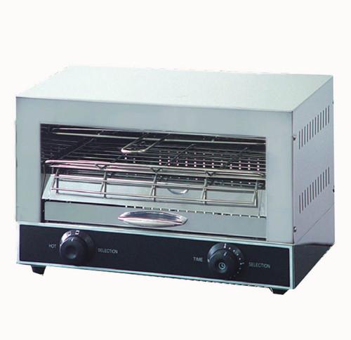 QT-1 Single Infrared Quartz Element Salamander Griller Toaster and Timer