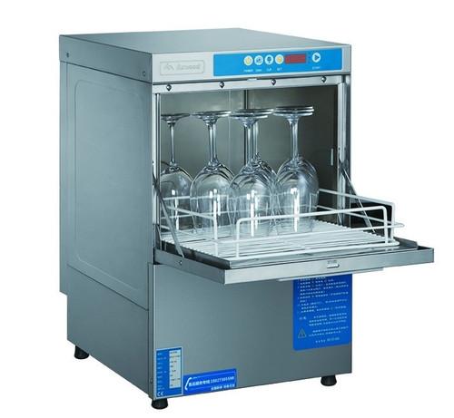 UCD-400 Axwood Under Bench Dishwasher with auto drain pump, rinse aid & detergent pump