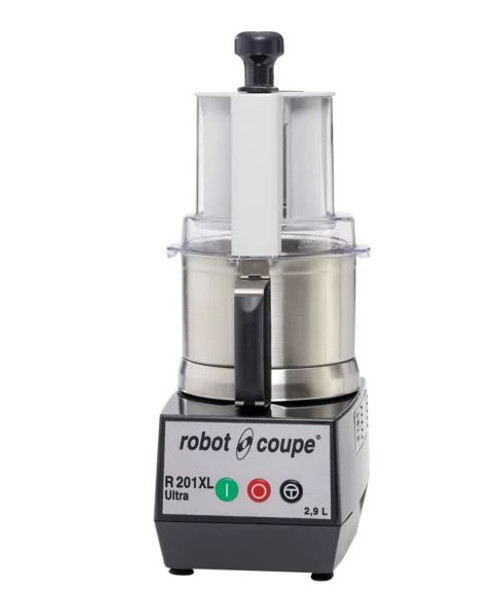 R201XL Ultra Robot Coupe Food Processor 2.9 Litre Stainless Bowl includes 2 discs