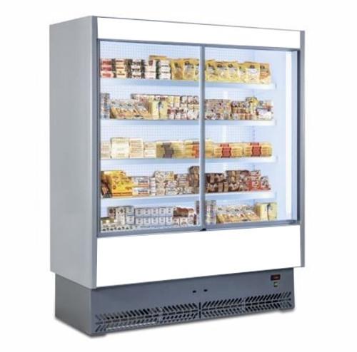Mastercool Italian Sliding Door Multi Deck Vertical Display Chiller 1600mm