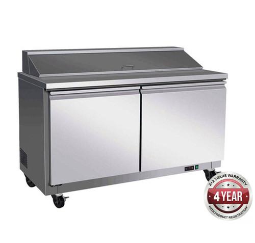 TSB1555 Pizza Prep Bench 527Ltr 1555mm W
