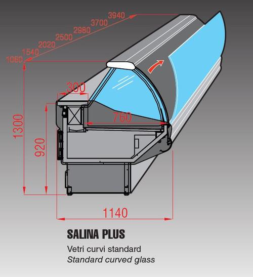 Mastercool Salina Plus 150 Deli Display 1540mm