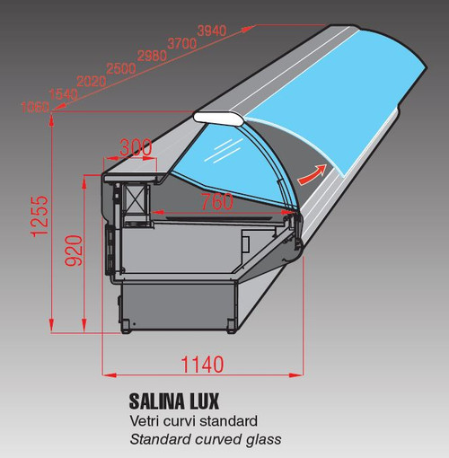 Mastercool Salina Lux 200 Cold Deli Display 2020mm