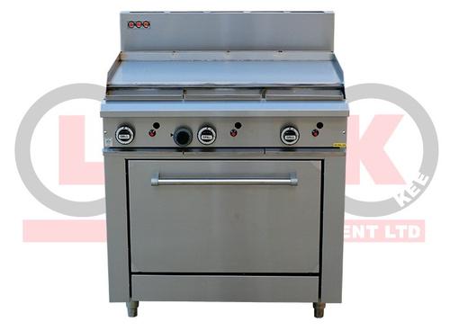 LKKOB6A+O 900mm Gas Griddle + Standard Oven