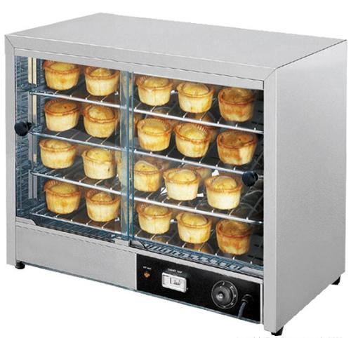 DH-580E Hot Food Display & Pie Warmer  640mm W x 360 D x 530 H