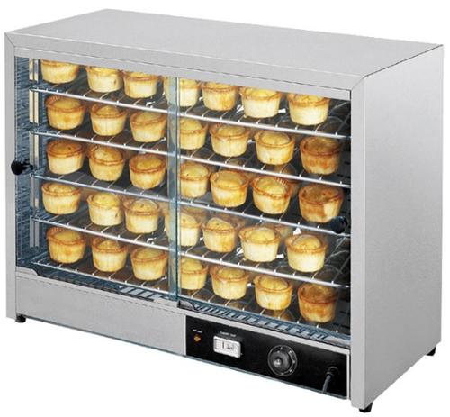 DH-805E Hot Food Display & Pie Warmer  865mm W x 360 D x 625 H