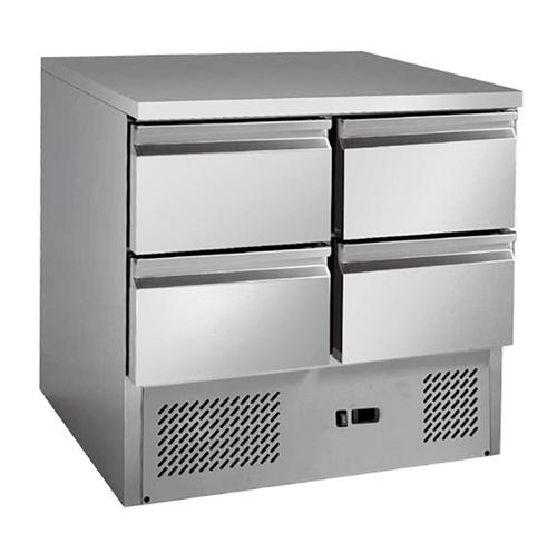 4 drawers S/S benchtop fridge - GNS900-4D