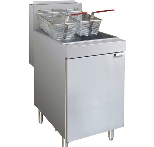 RC400E - Superfast Natural Gas Tube Fryer 22Ltr Oil Capacity