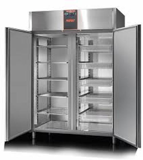 AF14PKMBT Mastercool Perfekt 1400 Litre Upright Stainless Steel Freezer
