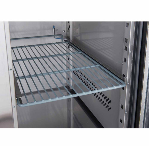 XSS7C13S2V FED-X S/S Two Door Sandwich Counter 282Ltr 1360mm Width