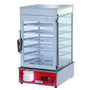 MME-600H-S Heavy Duty Electric Steamer Display Cabinet 1.2kw