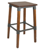 Genoa Stool 730H - Timber Seat