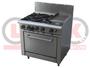 4 Open Burner Cooktop & 300mm RHS Griddle Static Oven Range - LKKOB6C+O