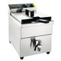CP793-A Apuro Single Tank Single Basket Induction Fryer 7.5Ltr