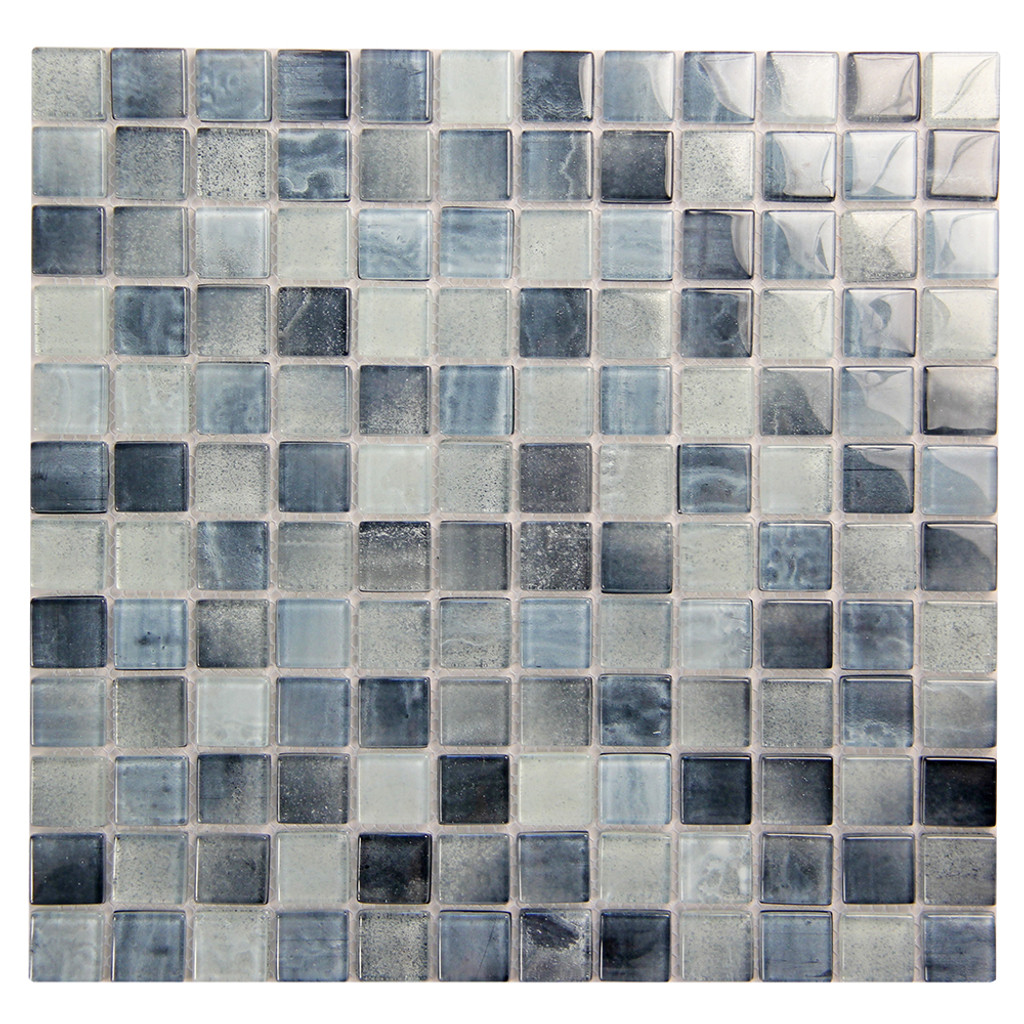 Extant Sky 1x1 Pool Mosaic Glass Tile