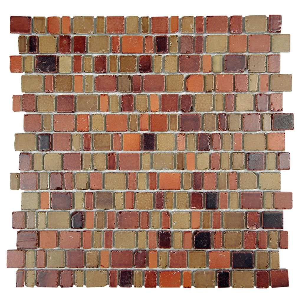 Ice Age Copper Mosaic Stone Tile