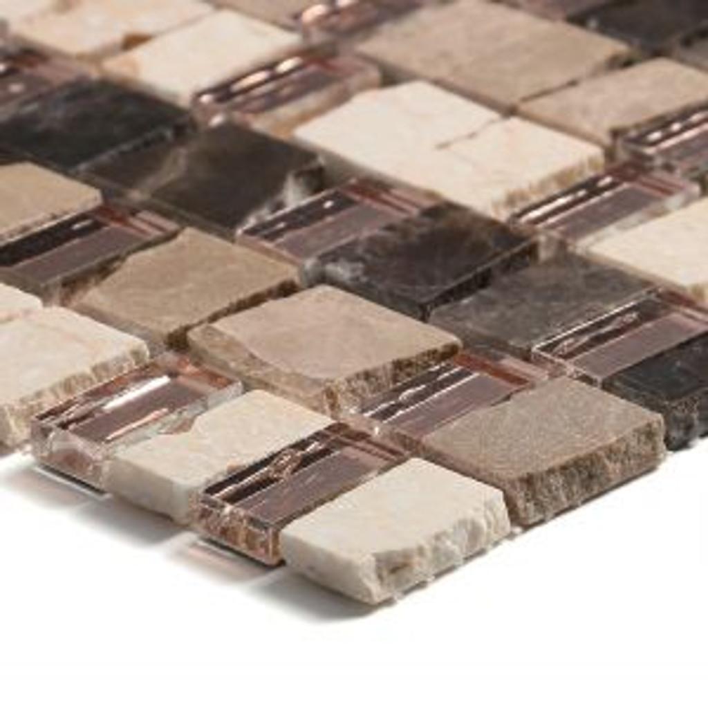 mont blanc spanish mix mosaic glass tile