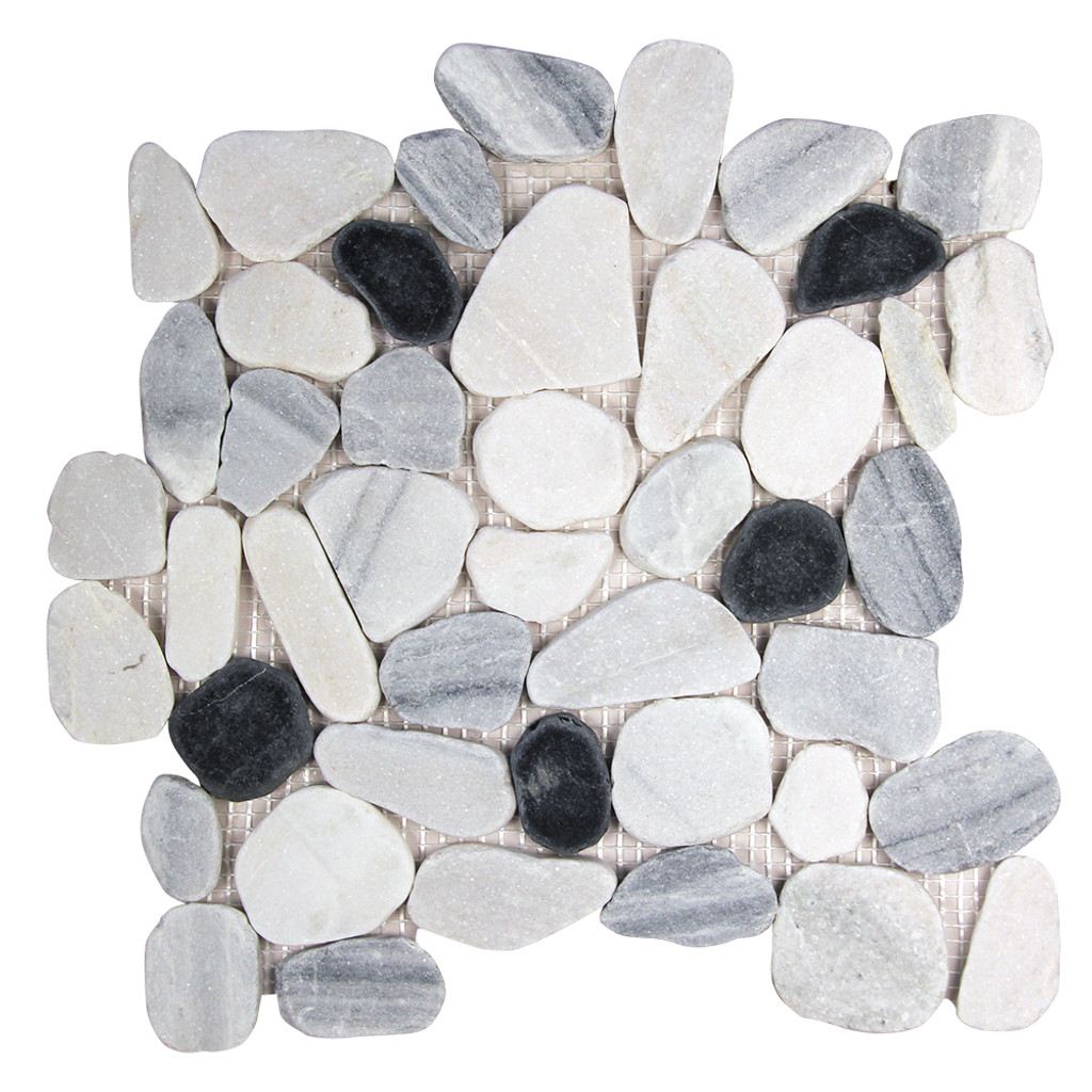 Pebble Stone Sliced Marmara Tile